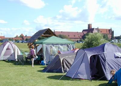 Witamy serdecznie i z namiotami